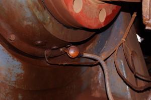 Temperature sensor immersion type, elevator installation bearings, mark +81 m., Rodina mine, KIOC