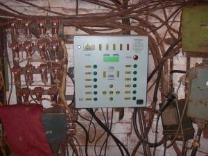 Колонка сигнализации горизонта, г. -1340 м., центральный слепой ствол, ЗЖРК