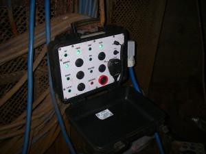Пульт сигнализации забоя, полок, углубка ствола ш. Центральная