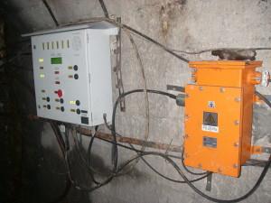 Column alarm horizon and PS 2407 (mining flameproof construction), mine №10, Novovolynsk