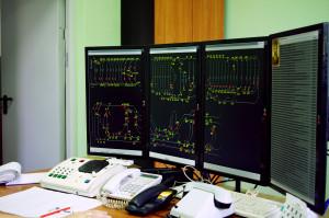 Dispatcher of intramine transport, building of administrative household housing, Ekspluatatsionnaya mine, ZIOC