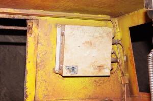 Блок питания БП 2407, шахтный электровоз, г. -1391 м., ш. Родина, КЖРК