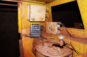 Power Supply Unit PS 2407, PSB 1203 and transceiver, mine electric locomotives,horizon -1391 m., Rodina mine, KIOC