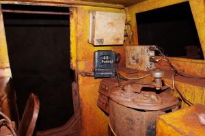 Блок питания БП 2407, БПА 1203 и приемопередатчик, шахтный электровоз, г. -1391 м., ш. Родина, КЖРК